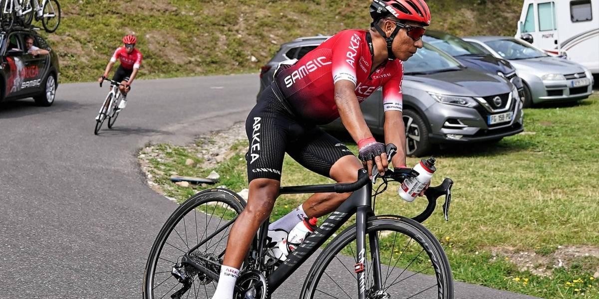 Nairo reveló cómo se siente tras la caída y volvió a hablar de una posible alianza colombiana en el Tour