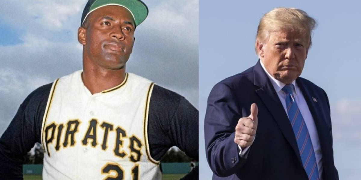 Donald Trump también celebra el legado de Roberto Clemente