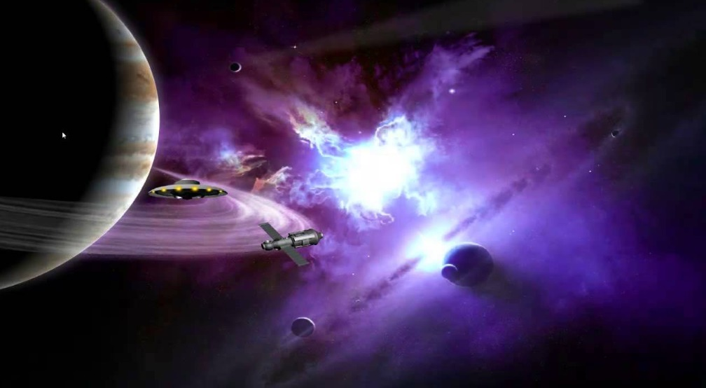 Espacio exterior y la búsqueda de vida extraterrestre.