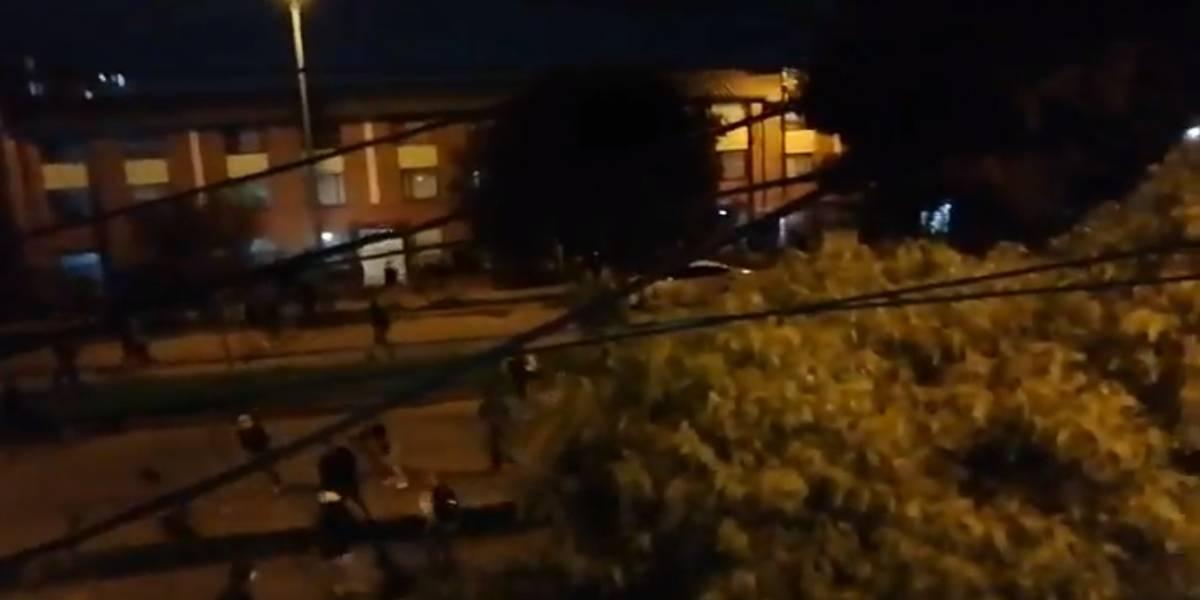¡ATENCIÓN! Llegan disturbios a otros CAI en Bogotá por protestas