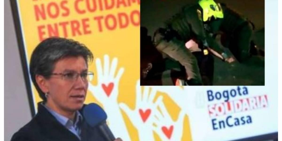 """""""Esto no es de manzanas podridas"""": Claudia López sobre muerte de abogado tras abuso policial"""