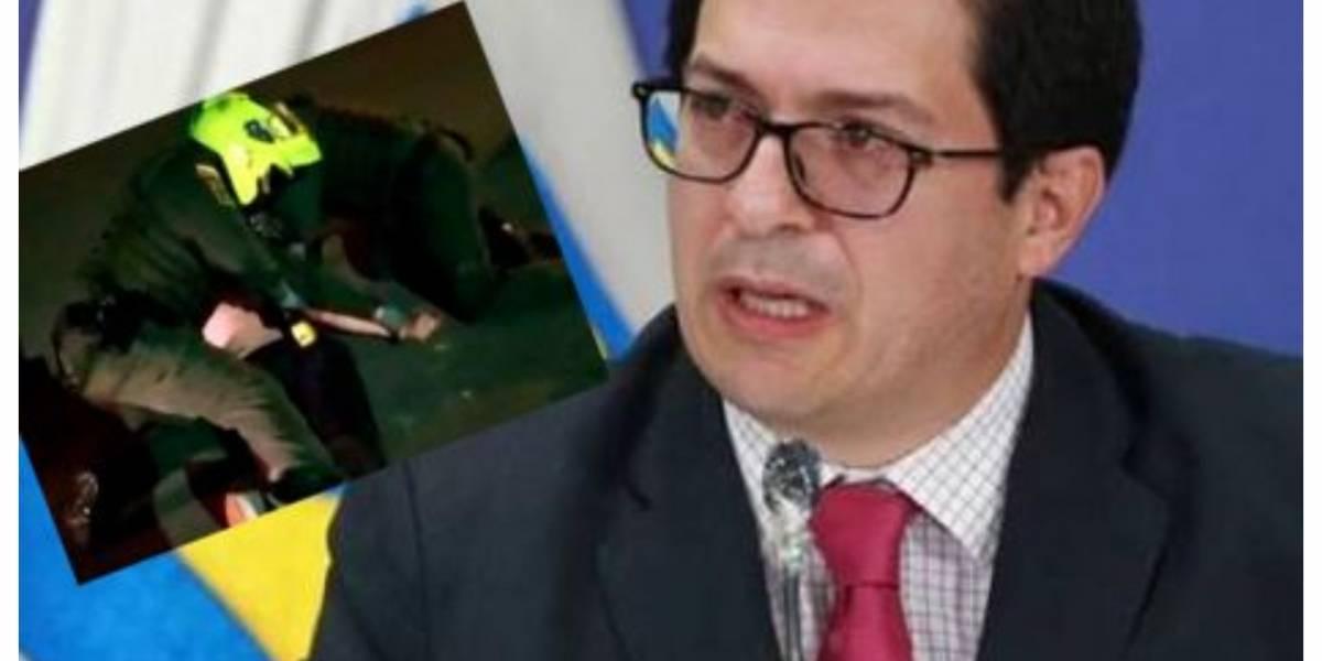 La orden del fiscal Francisco Barbosa en investigación por muerte de abogado tras abuso policial