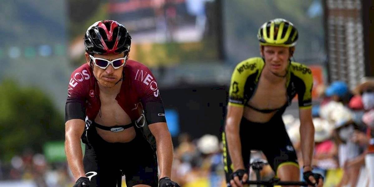 Tras sus palabras contra Egan, Geraint Thomas decepciona en la Tirreno Adriático