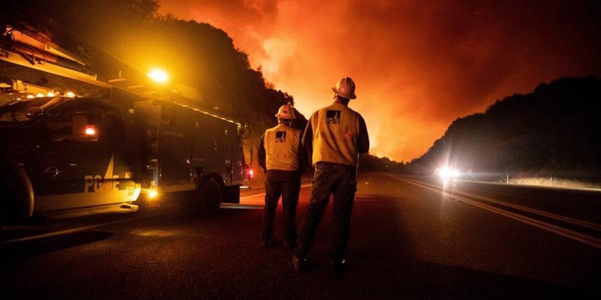 Más de 40 incendios activos disparan alarmas en peor temporada en California