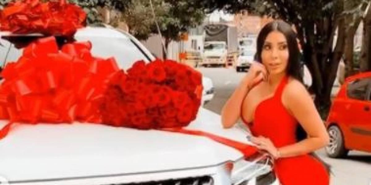 La costosa camioneta que se compró Marcela Reyes y mandó a traer desde Dubai