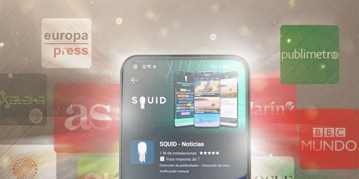 ¿Qué es Squid App y cómo acceder a las noticias de Publimetro a través del asistente Huawei?