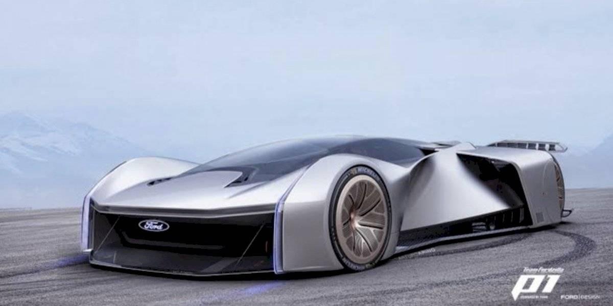 Equipo Fordzilla presenta auto de carreras virtual creado junto con gamers