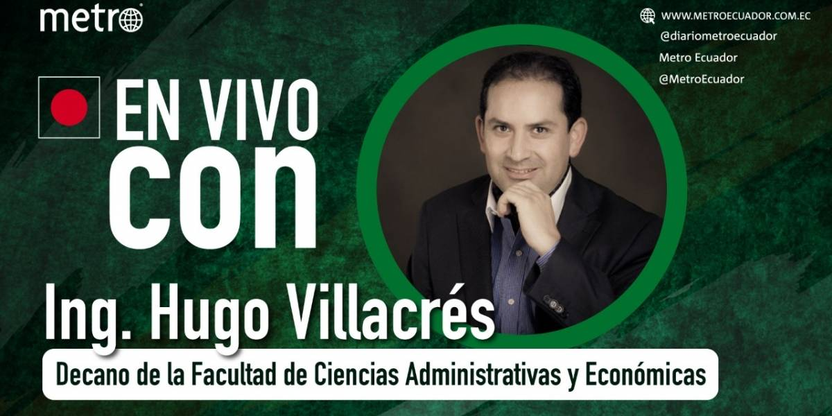 Hugo Villacrés: Ecuador podría tener un decrecimiento de 12% en su economía, según estudio