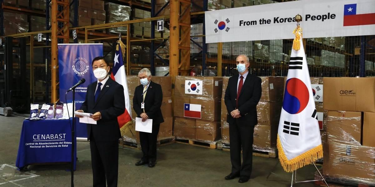 No todo es K-pop e intercambio: Corea dona medio millón de dólares en mascarillas y test de PCR a nuestro país