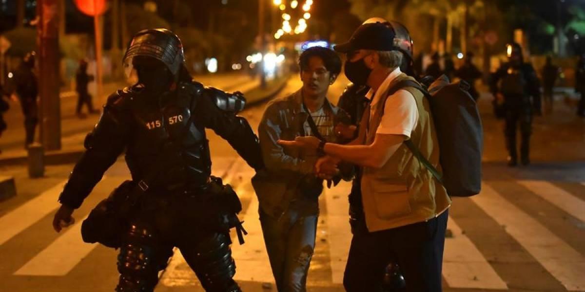 Tres policías serán imputados con cargos por homicidio tras disparar contra manifestantes el 9 de septiembre en Bogotá