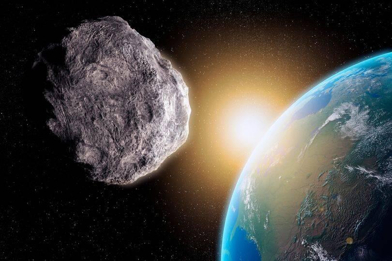 Asteroide visto por la NASA