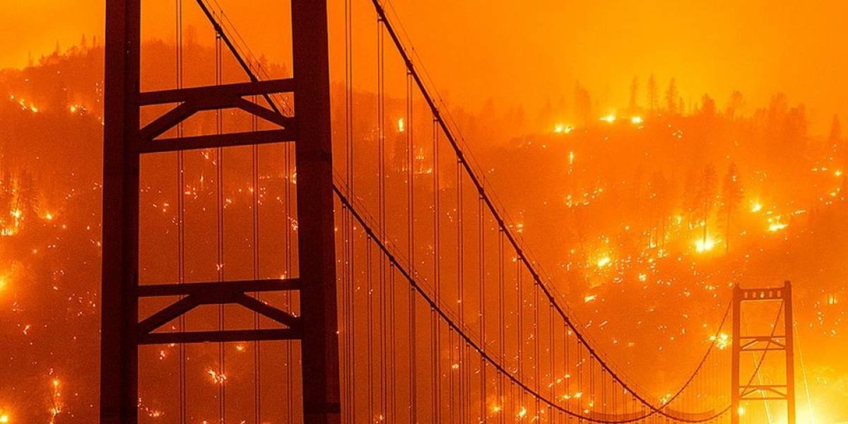 No es Marte: impresionantes imágenes de San Francisco debido a los incendios