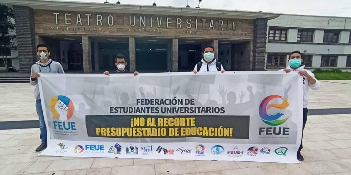 Universitarios convocan a movilizaciones en Guayaquil y Quito por fallo de la Corte