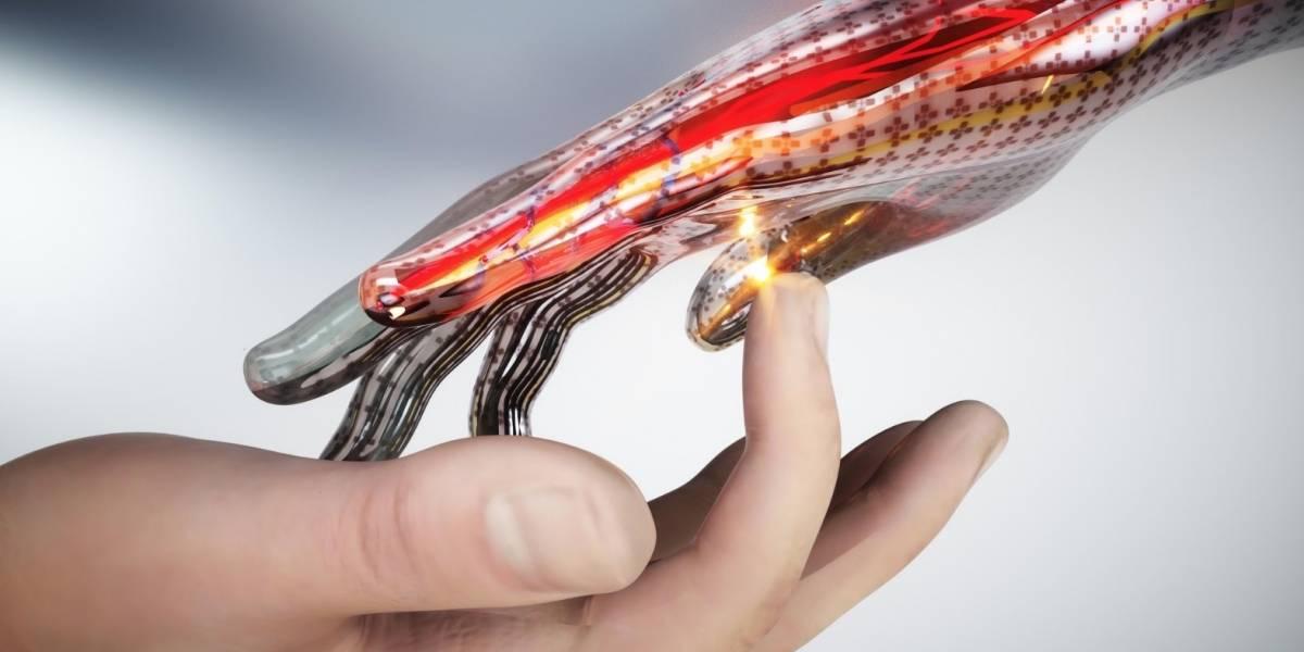 Esta piel electrónica siente dolor como una verdadera