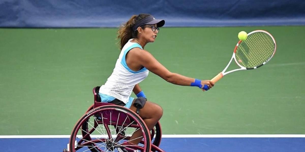 ¡A semifinales! Histórico triunfo de Angélica Bernal en el US Open de tenis en silla de ruedas