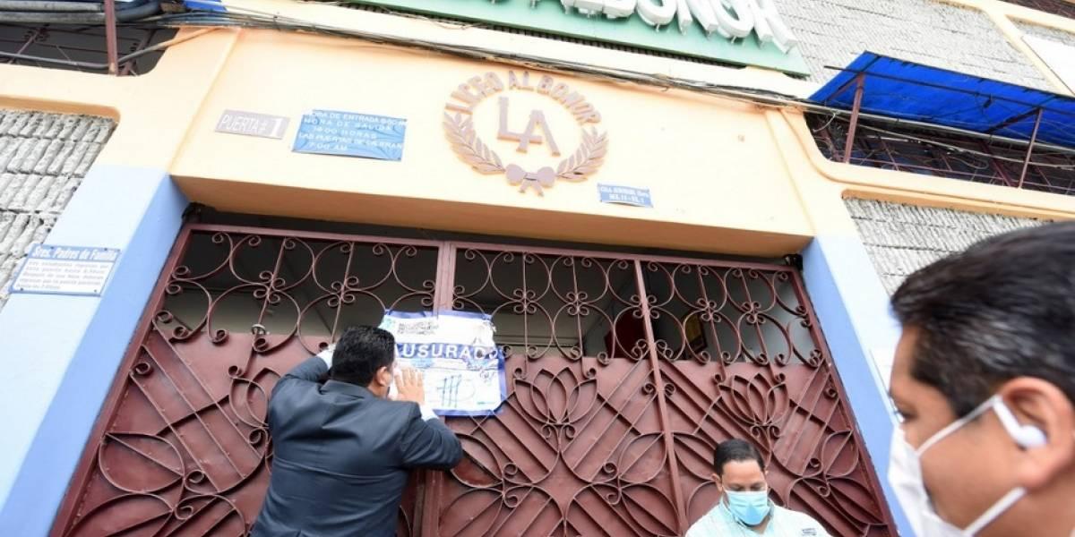 Clausuran el Colegio Albonor de Guayaquil por recibir a estudiantes