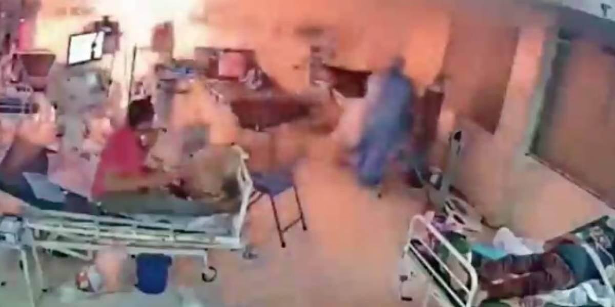 Impactante: ventilador mecánico explotó frente a pacientes con coronavirus