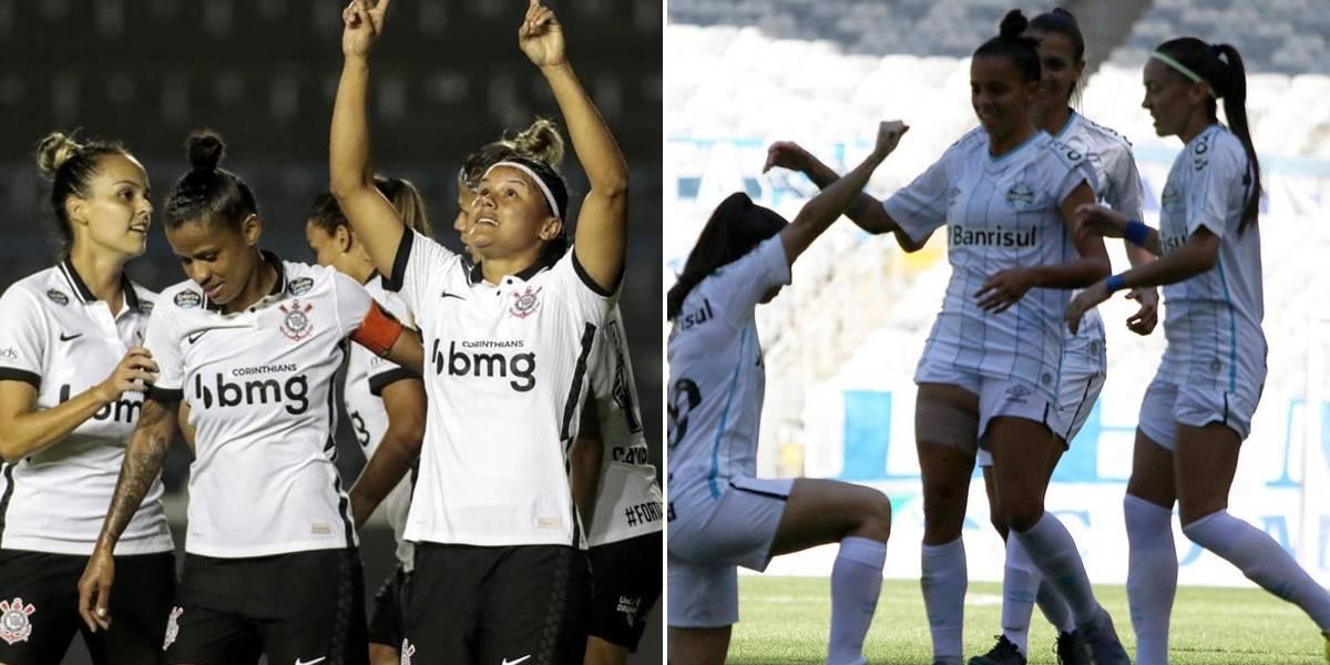 Band transmite Corinthians e Grêmio pelo Brasileirão Feminino