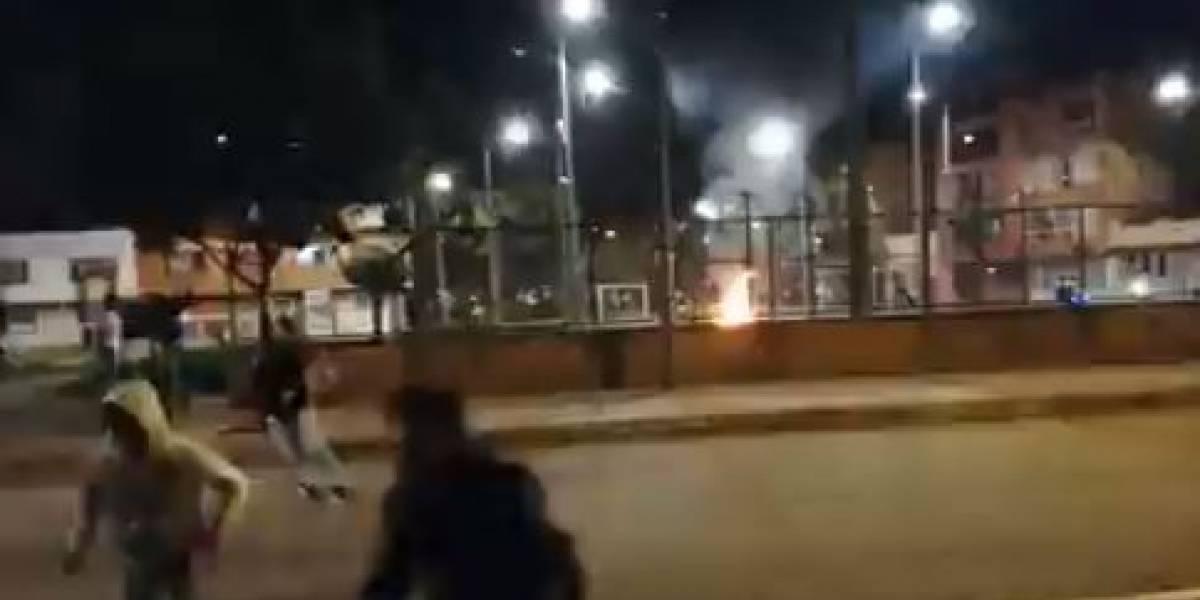 Denuncia que agentes de la Policía abrieron fuego contra decenas de protestantes en Suba