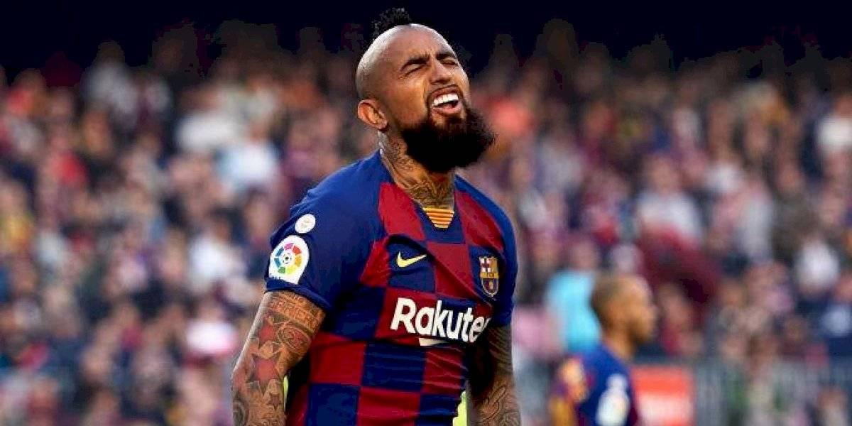 """El Inter se la canta clara al Barcelona: """"¡No pagaremos ni un euro por Arturo Vidal!"""""""