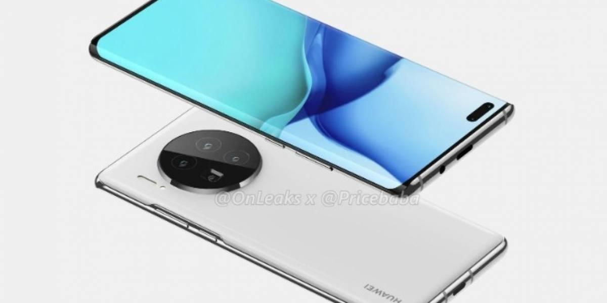 Huawei Mate 40: filtración revela la apariencia y potentes características de sus cámaras