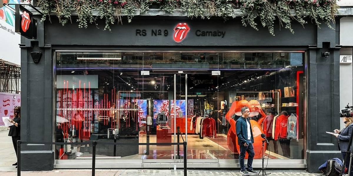 Loja oficial dos Rolling Stones é inaugurada em Londres