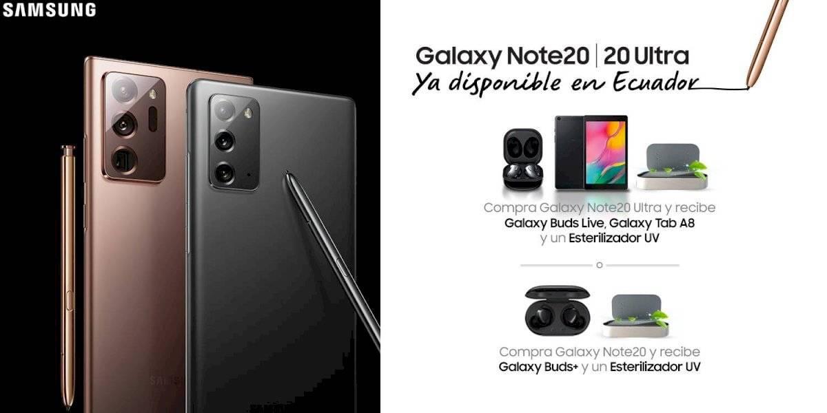 Galaxy Note20 y Galaxy Note20 Ultra, una experiencia única llegó a Ecuador