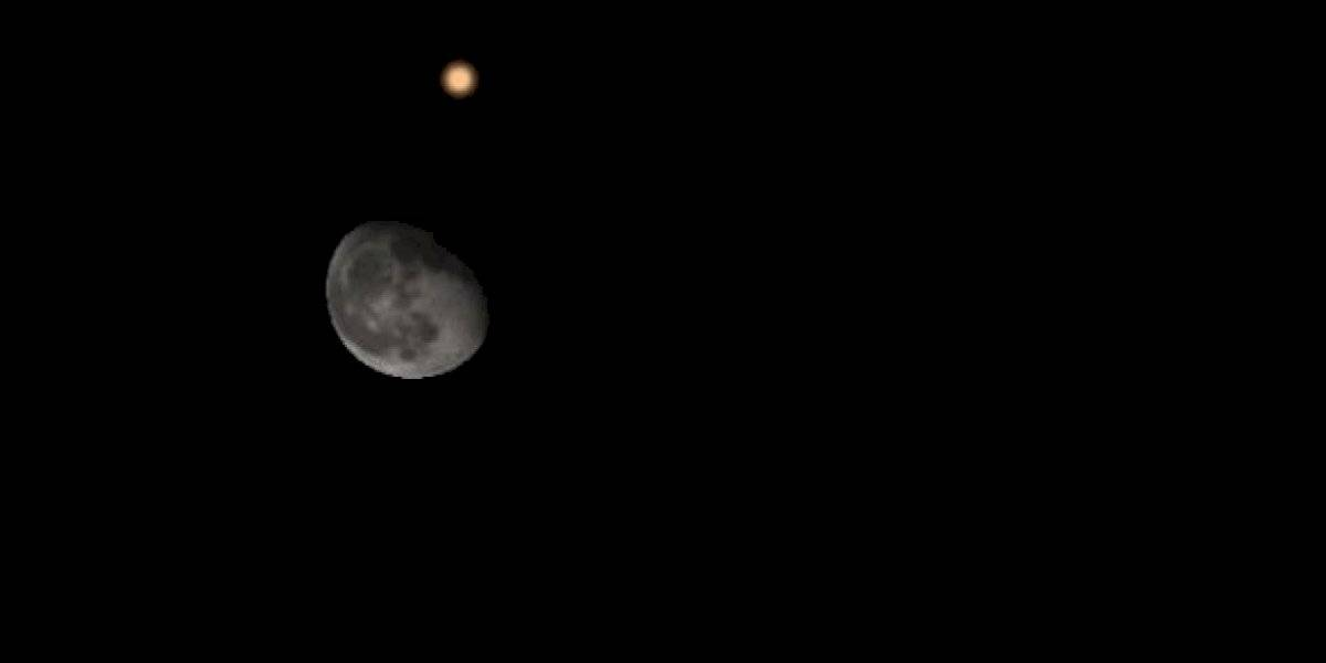 Captan desde Puerto Rico notable acercamiento del planeta Marte