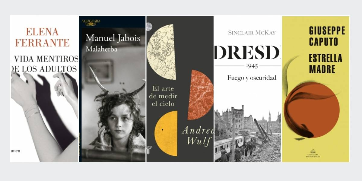 5 libros nuevos para disfrutar en septiembre