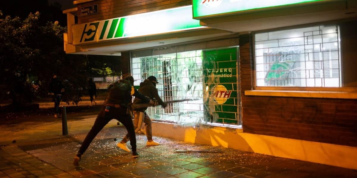 Detenidos por vandalismo en protestas serían parte de células urbanas de disidencias: Fiscal