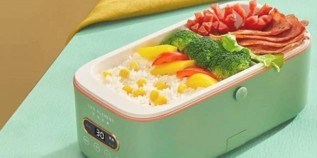 Xiaomi lanza al mercado novedosa lonchera capaz de calentar la comida automáticamente