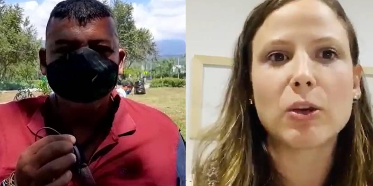 Hombre que amenazó de muerte a concejala de Cali pidió disculpas públicas