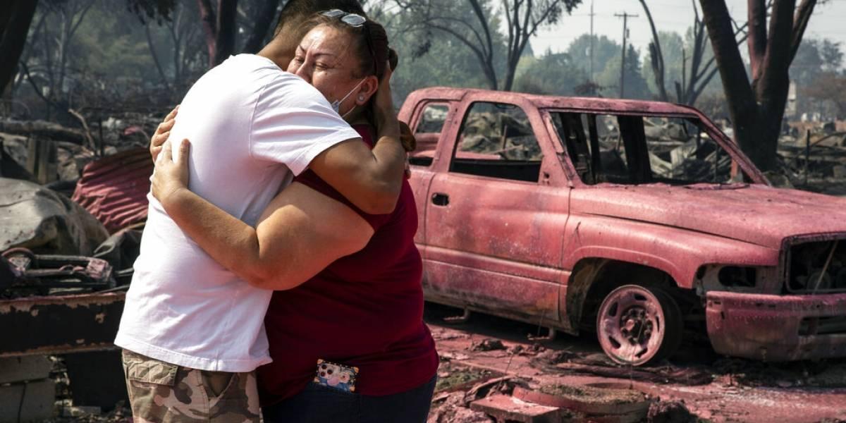 10% de la población en Oregon ha sido evacuada por incendios forestales