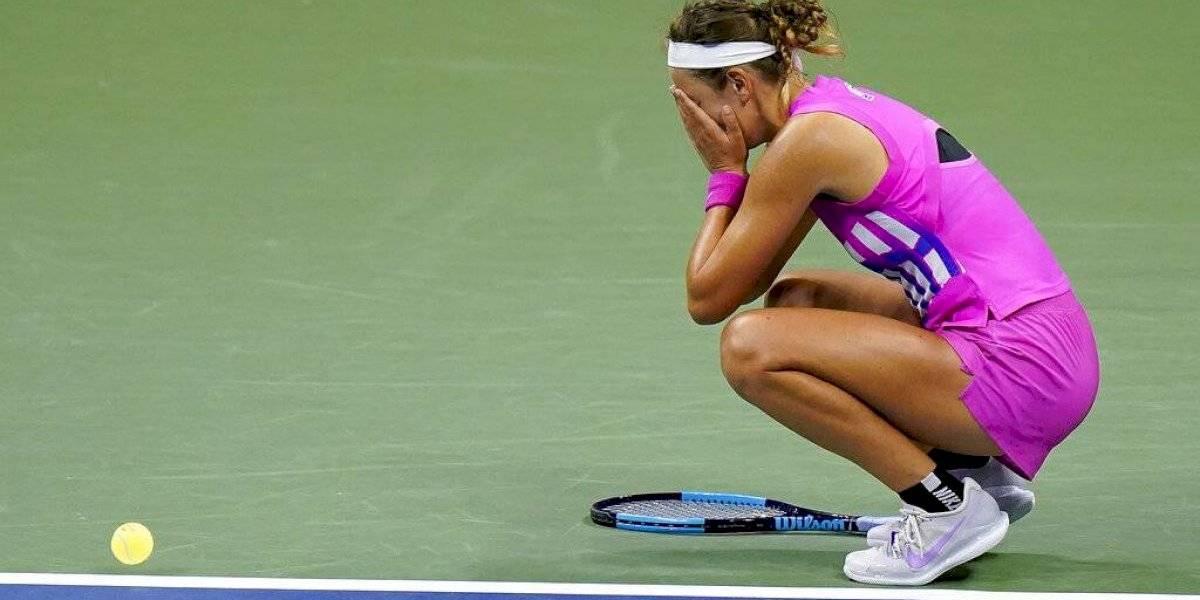 Victoria Azarenka saca a Serena Williams de la final del US Open 2020