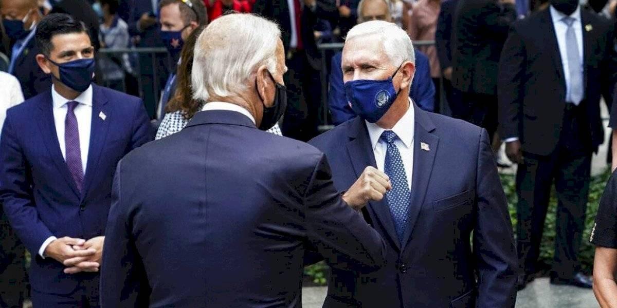 Afloran las diferencias de estilo de Biden y Trump al conmemorar el 11 de septiembre