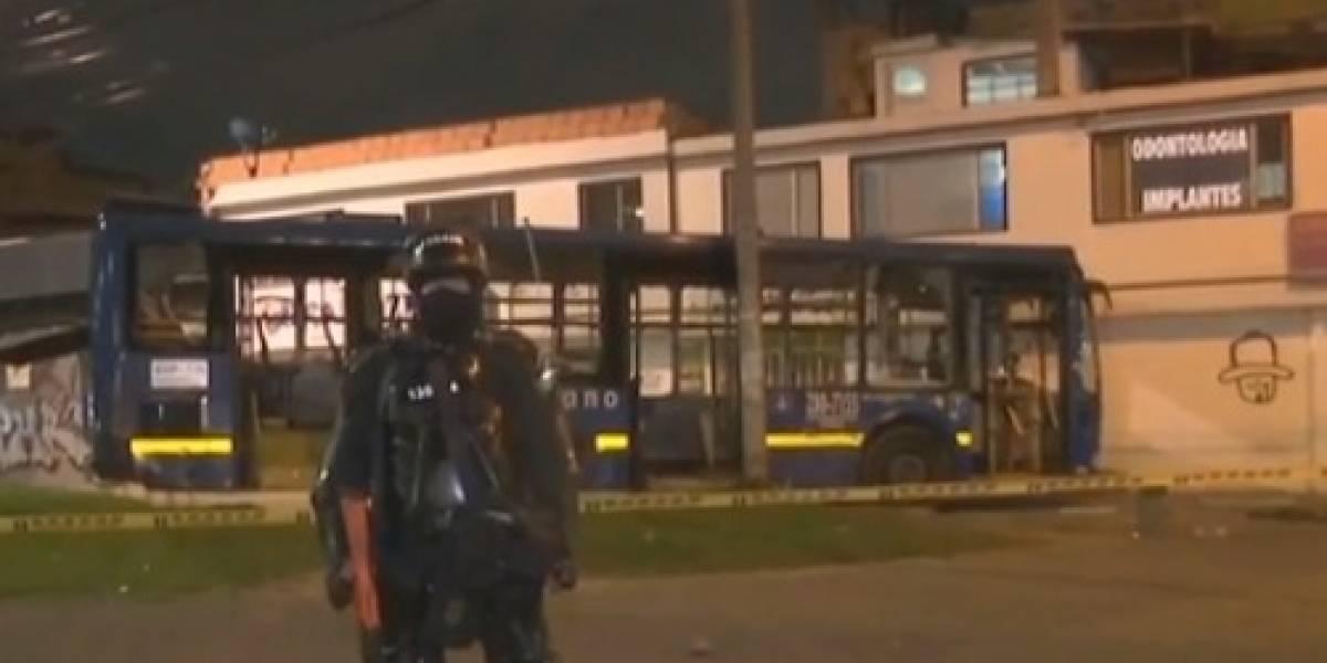 Criminales se robaron bus del Sitp y en la huida mataron a una señora atropellándola