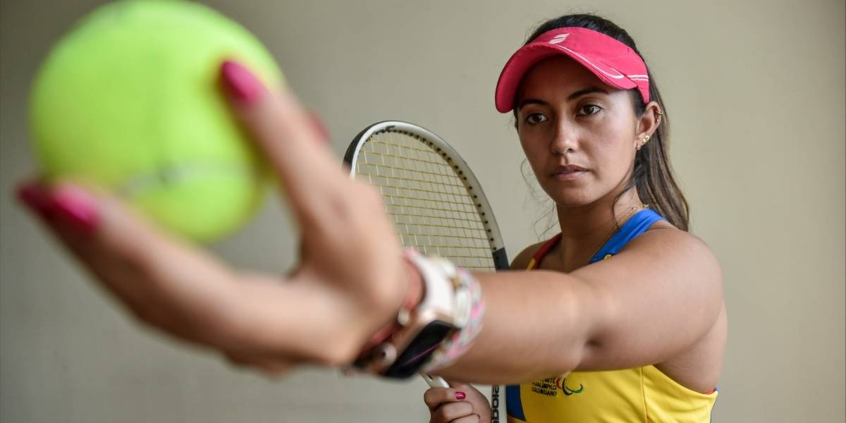 Aunque dijo adiós en semifinales del US Open, Angélica Bernal hizo historia en el tenis en silla de ruedas