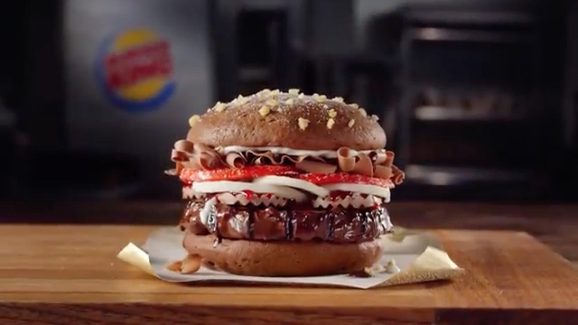 Burger King chocolate