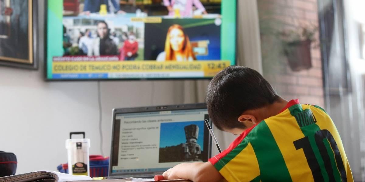 Gran brecha educacional por culpa de enseñanza online