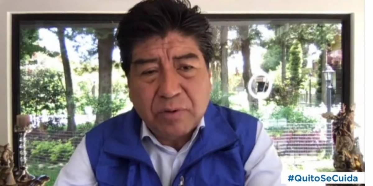 """Yunda: """"Por el momento se suspendió la romería de El Quinche y no se harían las Fiestas de Quito, Navidad y Año Nuevo"""""""