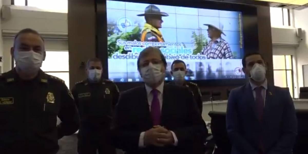 MinDefensa pide perdón al país en nombre de la Policía por muerte de Javier Ordóñez