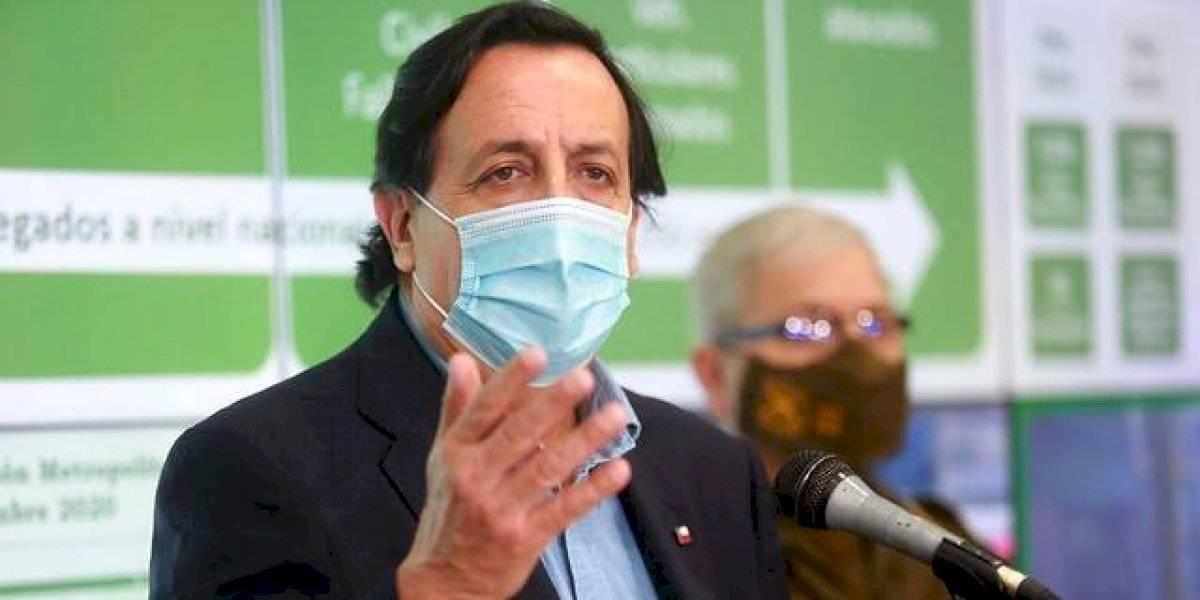 """Ministro Víctor Pérez y ampliación del estado de excepción: """"Es absolutamente de carácter sanitario"""""""