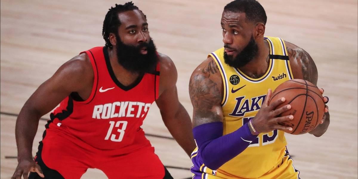 Los Ángeles Lakers vs. Houston Rockets | EN VIVO ONLINE GRATIS Link y dónde ver en TV playoffs de la NBA: Juego 5, canal y streaming