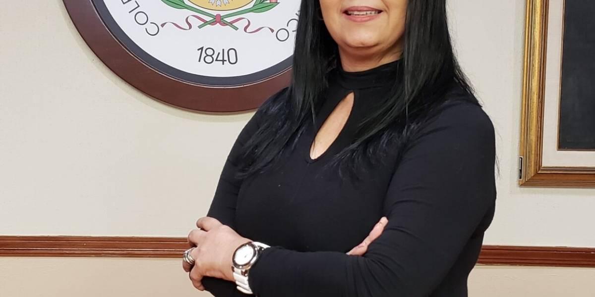 Colegio de Abogados y Abogadas certifica a la licenciada Daisy Calcaño López como nueva presidenta