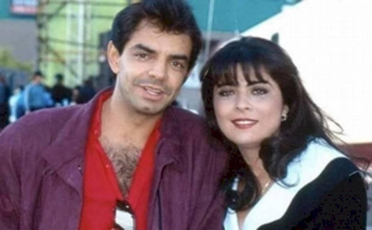 Eugenio Derbez y Victoria Ruffo cuando eran pareja