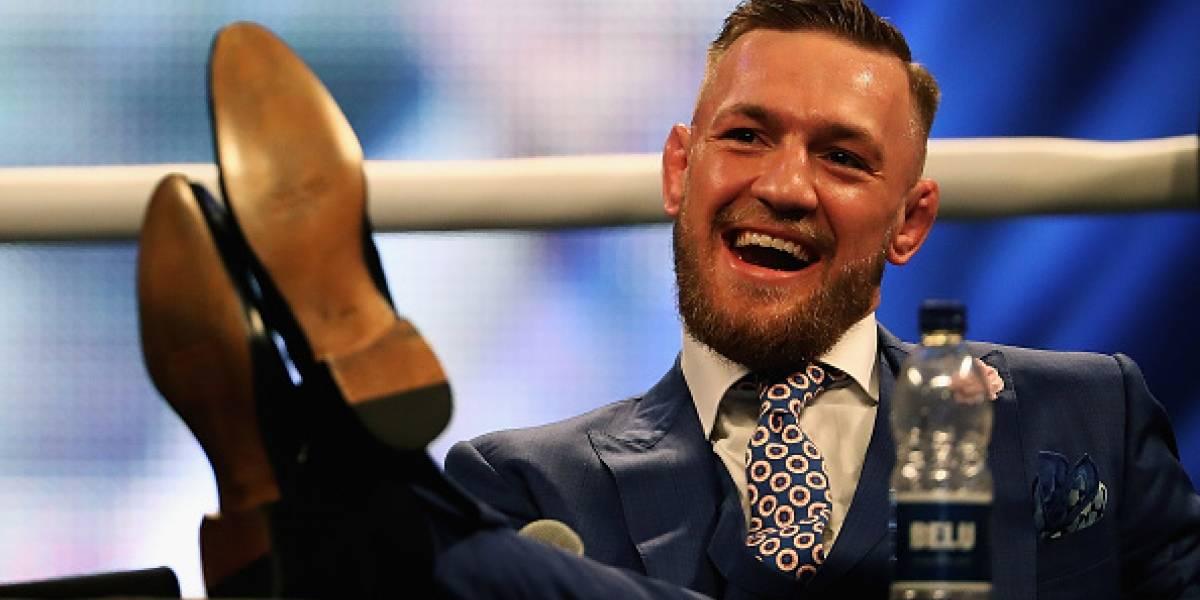 Conor McGregor fue detenido por tentativa de agresión y exhibición sexual