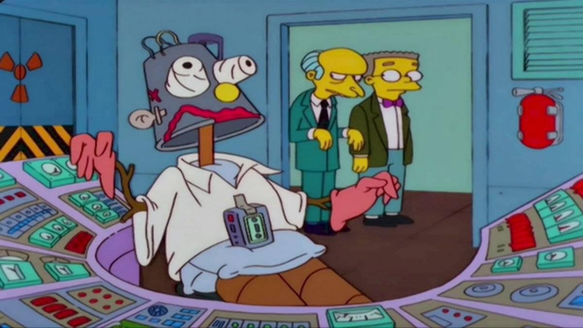 Los Simpson trabajo muy duro