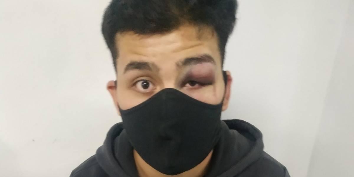 Denuncian que joven periodista fue golpeado por la Policía y está detenido en Bogotá