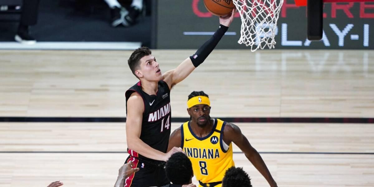 Tyler Herro, el novato revelación del Heat