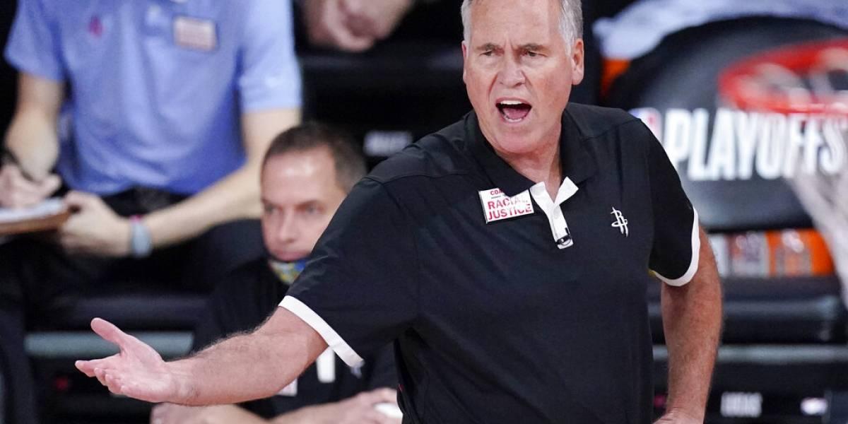 D'Antoni no seguirá como entrenador de los Rockets